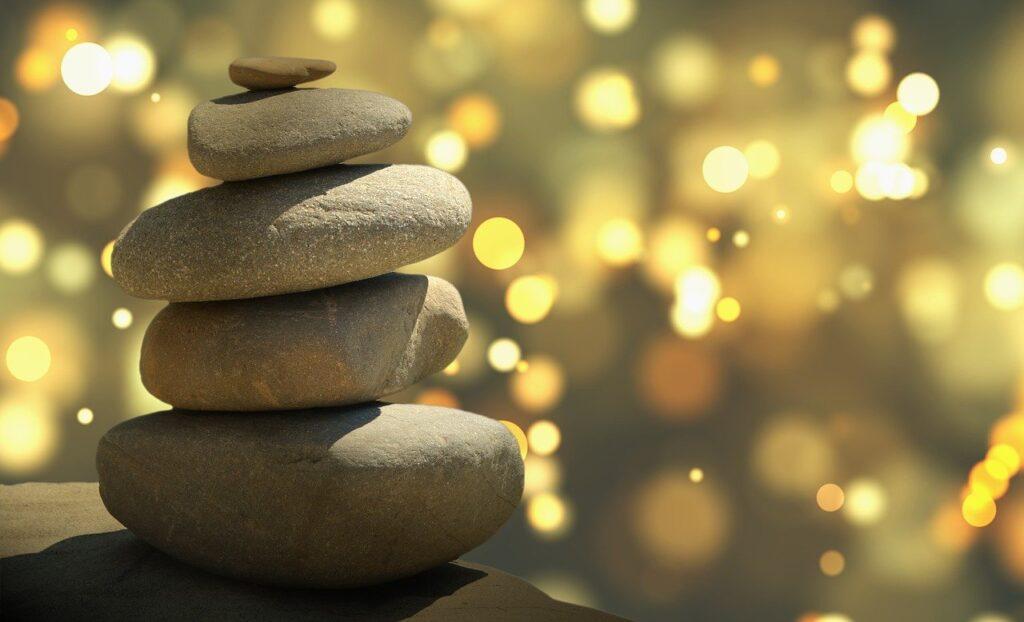 feng shui, zen, stones